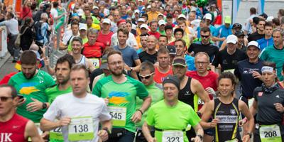 Liebe Metropolmarathonstarterinnen und -starter, freuen Sie sich mit uns auf ein tolles Lauffest!